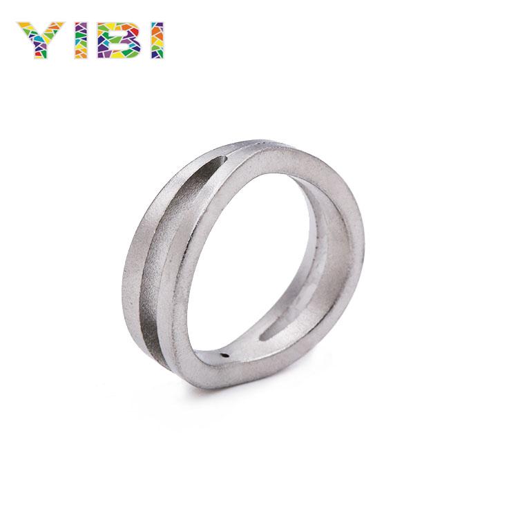 粉末冶金 不锈钢戒指 粉钢戒指 金属粉末注射成形钢首饰