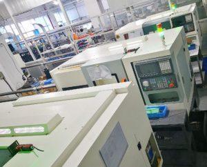 伊比精密为辅助粉末冶金生产新增加数控车床设备